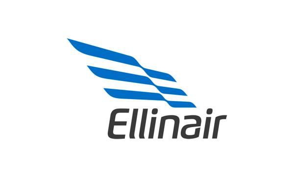 Ellinair - Airline brand Logo