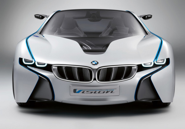 From the front - The BMW Vision Efficient Dynamics Concept
