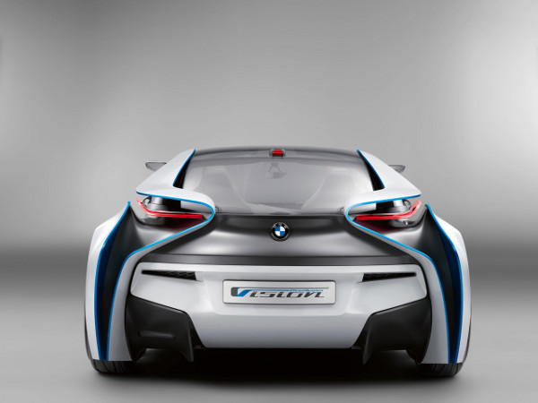 Rear - BMW Vision Efficient