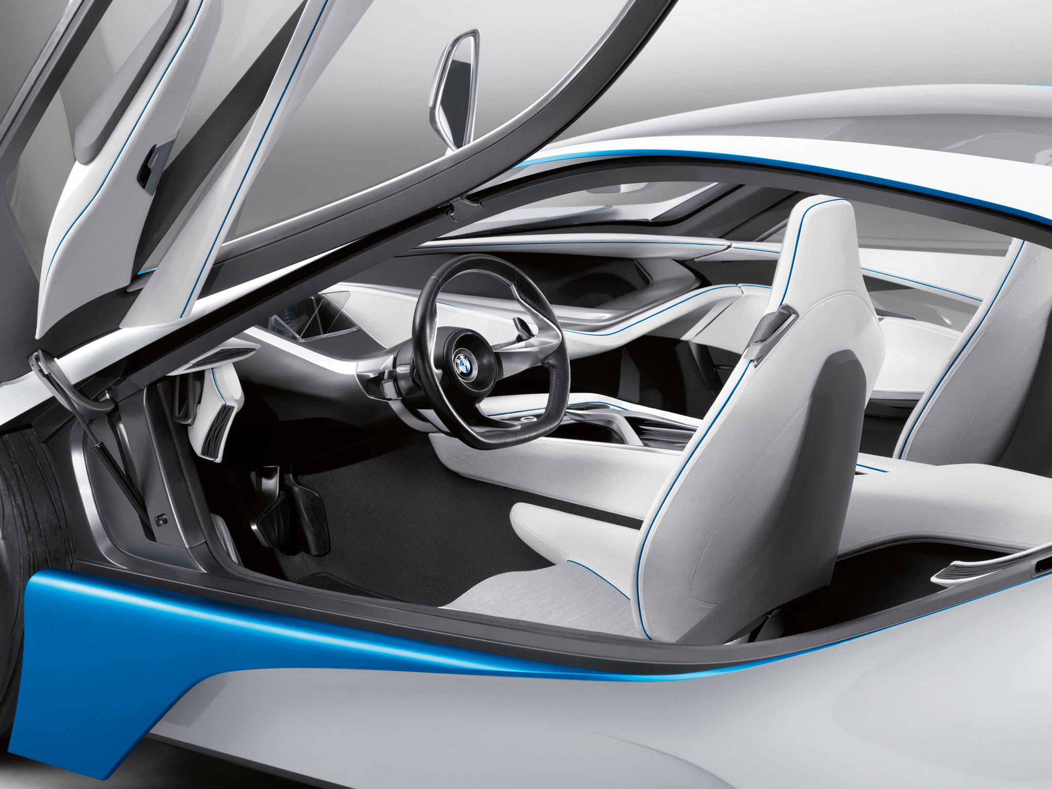 A closer look at the interior - BMW Vision Efficient