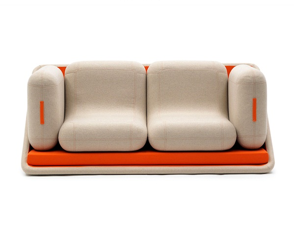 Five pieces for one cohesive piece of furniture.