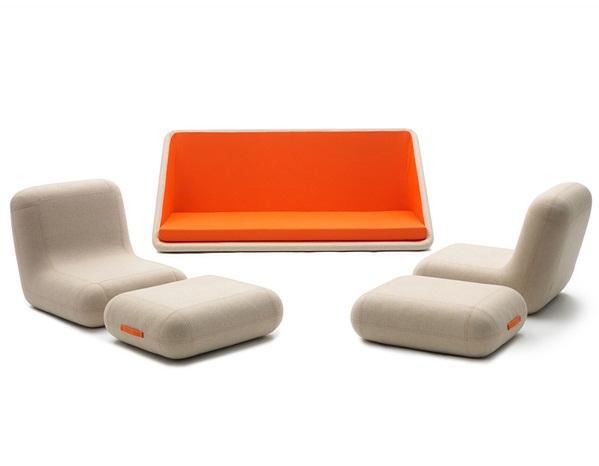 A modular sofa from Italian design powerhouses.