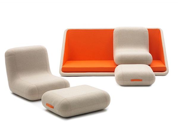 Flexibility in its functions - Concentré de Vie Sofa