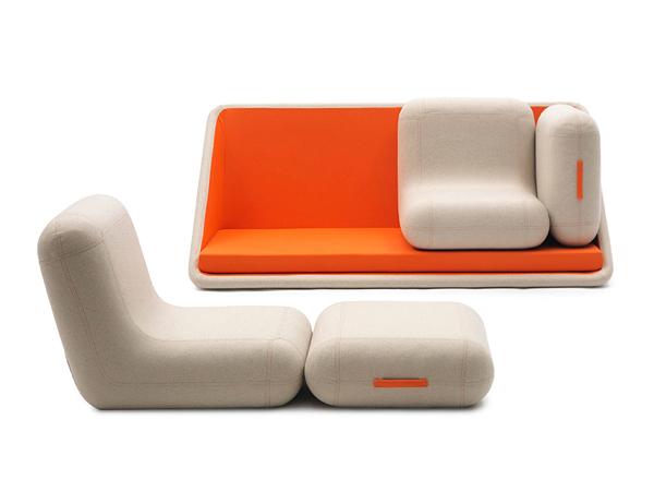 All you'd need in your den - Concentré de Vie Sofa