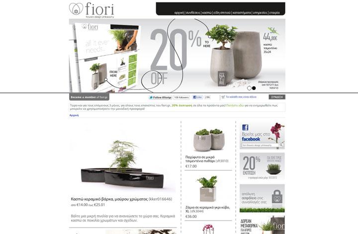 Company's website - Fiori Flowers