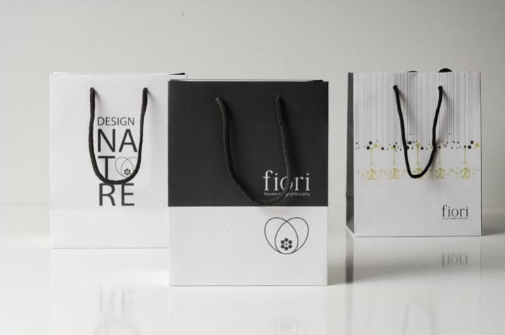 Gift bags - Fiori Flowers