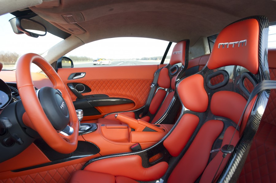 The interior - MTM R8 V10 BiTurbo GT