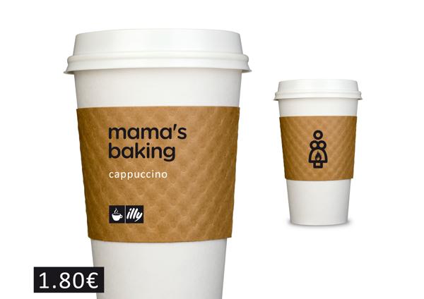 Mama's Baking serves Cappucino.