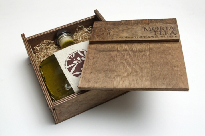 Unveiling the Premium Olvie Oil - Moria Elea Olive Oil Packaging