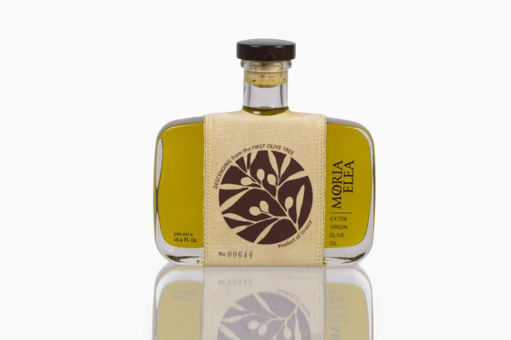 The Bottle - Moria Elea Olive Oil Packaging