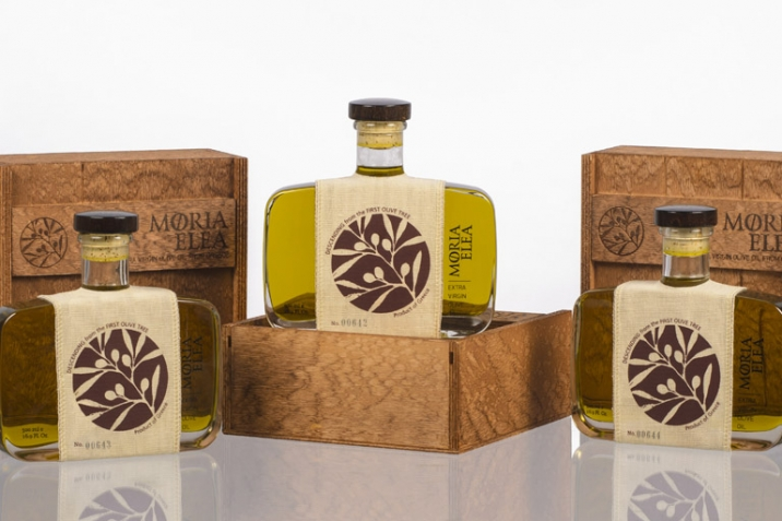 Superior Olive oil - Moria Elea Olive Oil Packaging