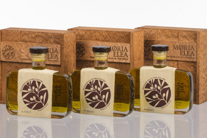 Premium range of Olive Oil from Olive Vision - Moria Elea Olive Oil Packaging