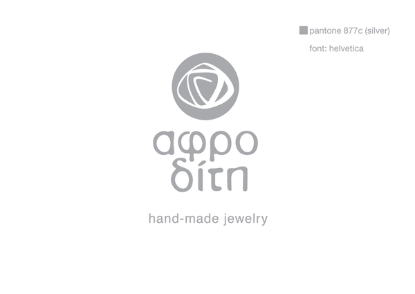 Logo and Business Card design of Aphrodite Handmade Jewelry