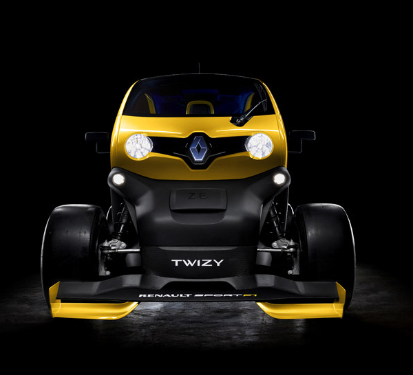 From the front - Twizy Sport F1