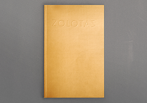 Cover of the Zolotas Catalogue
