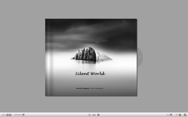 Silent World by Vassilis Tangoulis - Book cover