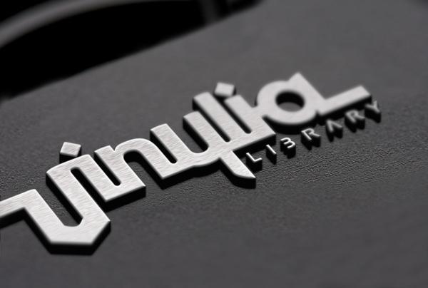 The Vinylia Library logo