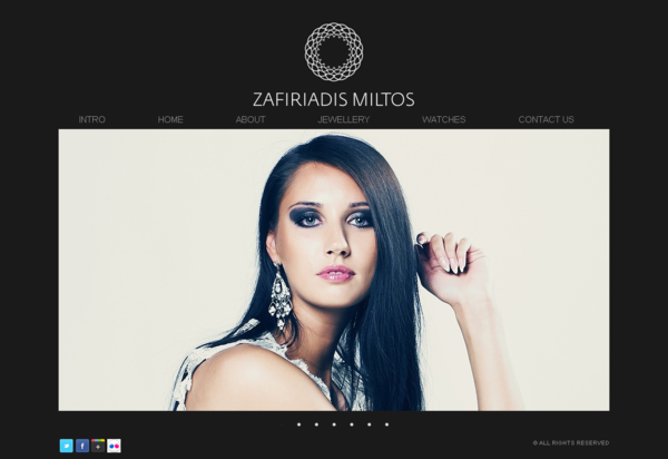 The Homepage for Zafiriadis.
