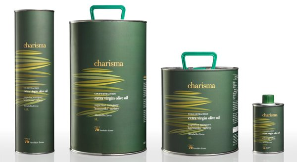 Charisma - Canned olive oil.