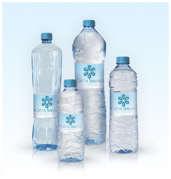 Various water bottle sizes - Creta Springs