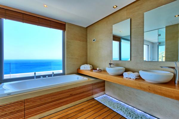 Paleokastro Villa - Interior - the bath