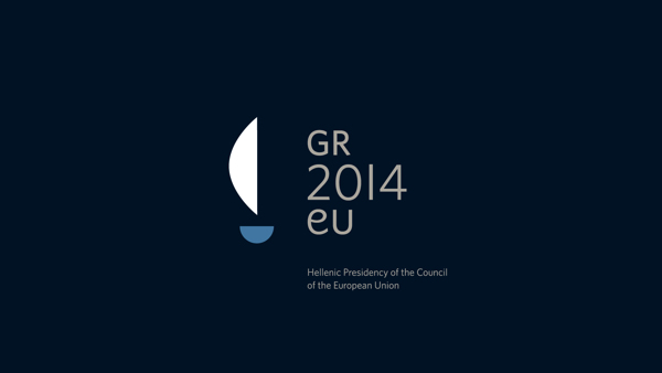 The logo of the Hellenic Presidency of the Council of the European Union
