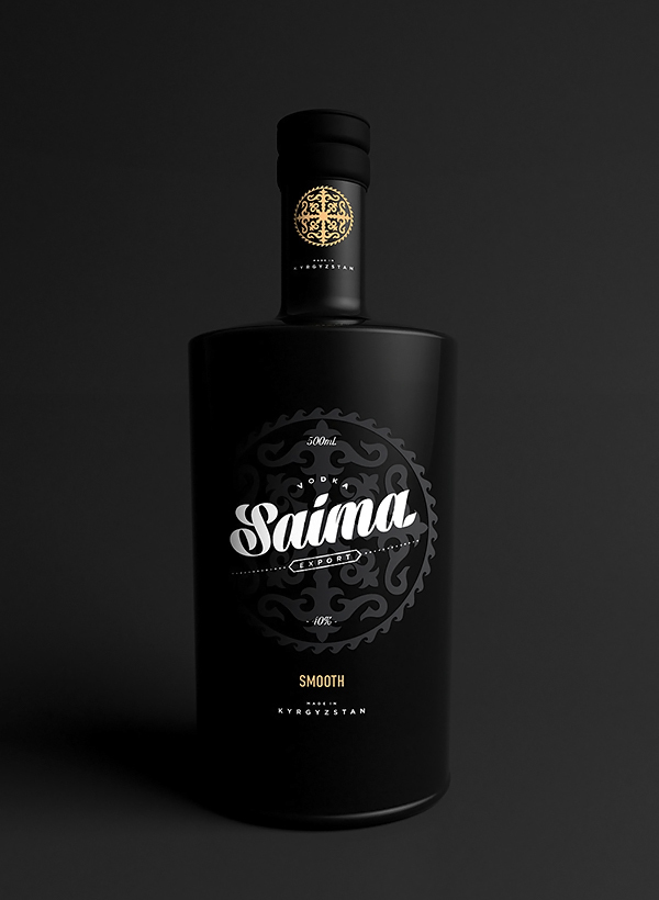Saima Vodka - Black 01