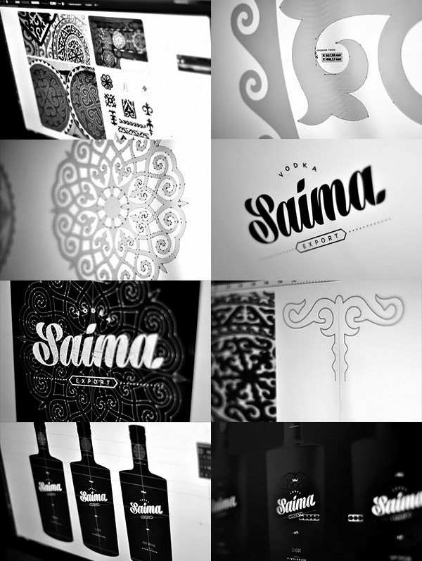 Saima Vodka - Black 04