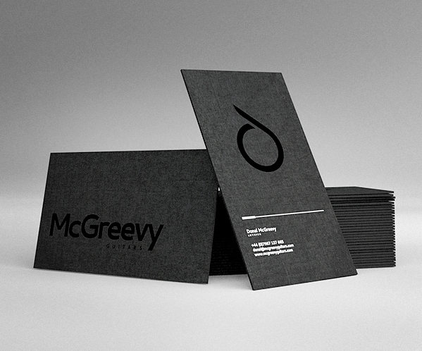 McGreevy Guitars on labels