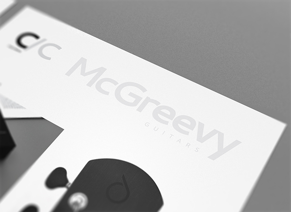 McGreevy name in grayscale - McGreevy Guitars