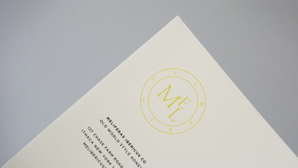 Letterhead with the Mel Ibericus logo