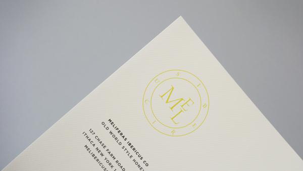 Letterhead with the Mel Ibericus logo